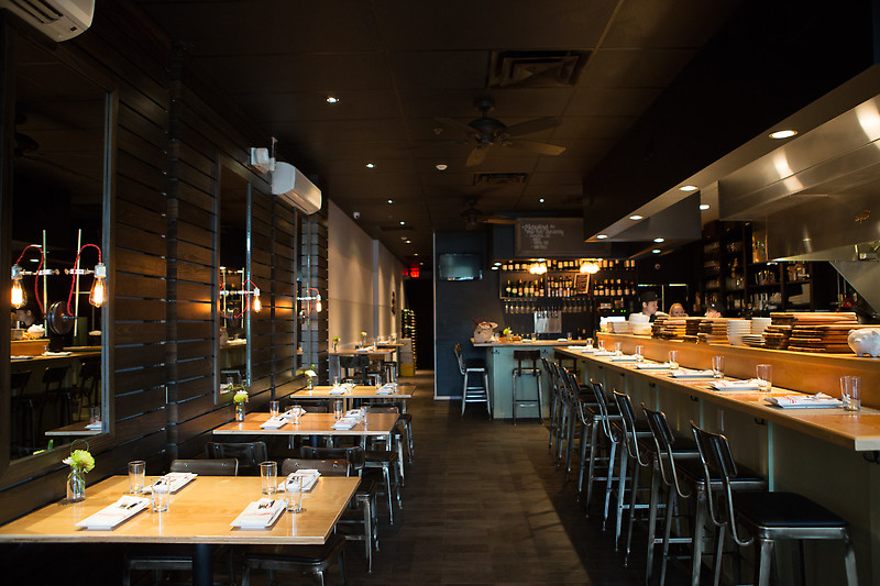 3. Coolinary Cafe - Innovative, market-driven American dishes & a refined wine list in a sparse but cozy dining room.Our faves: Boneless Southern Fried Chicken & Waffle, Deviled Eggs, BurgerPrice: $$