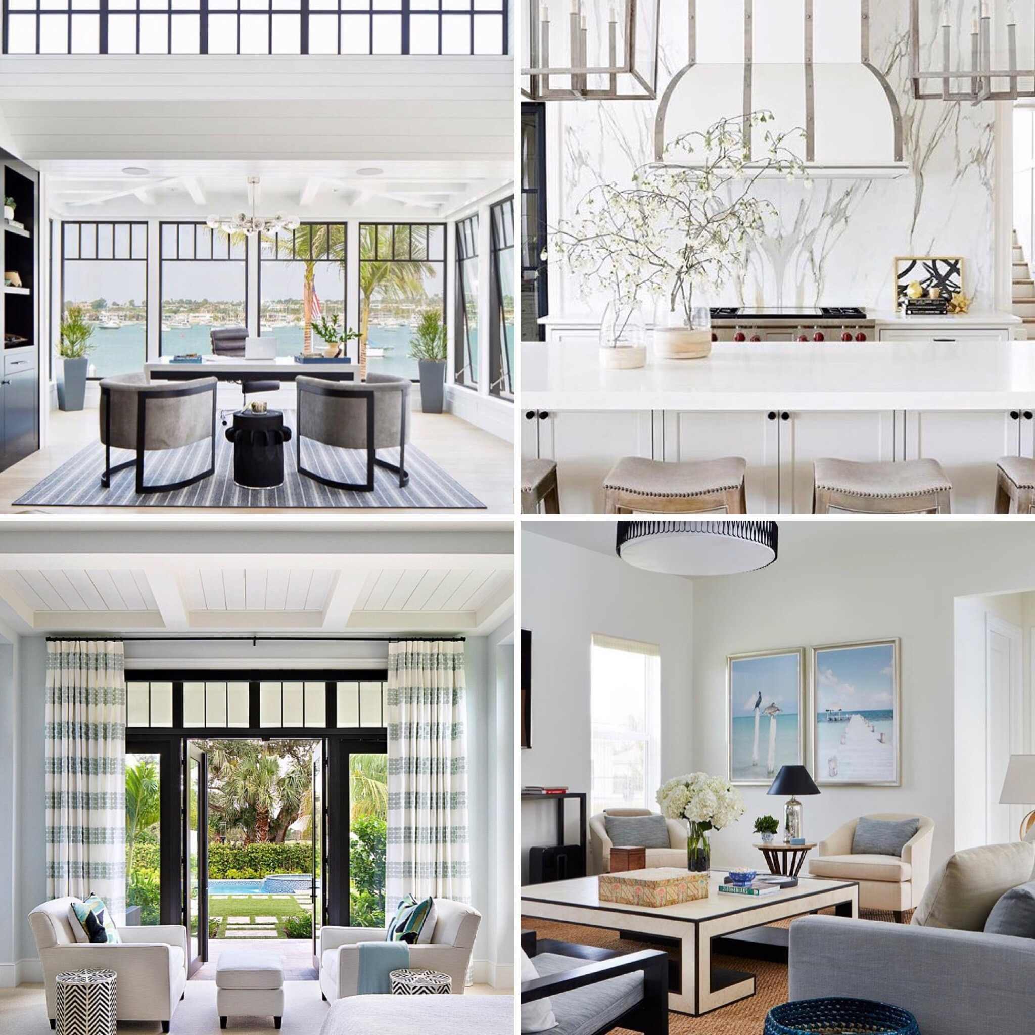 - Brittany definitely has an eye for modern and elegant coastal decor and her favorite accounts on the gram reflect that. We are getting some serious inspo from all the #SoFlo and #PalmBeach vibes in her fav insta accounts.