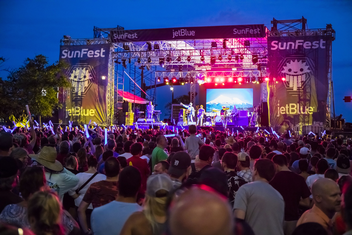 Sunfest Music Festival downtown west palm beach waterfront real estate