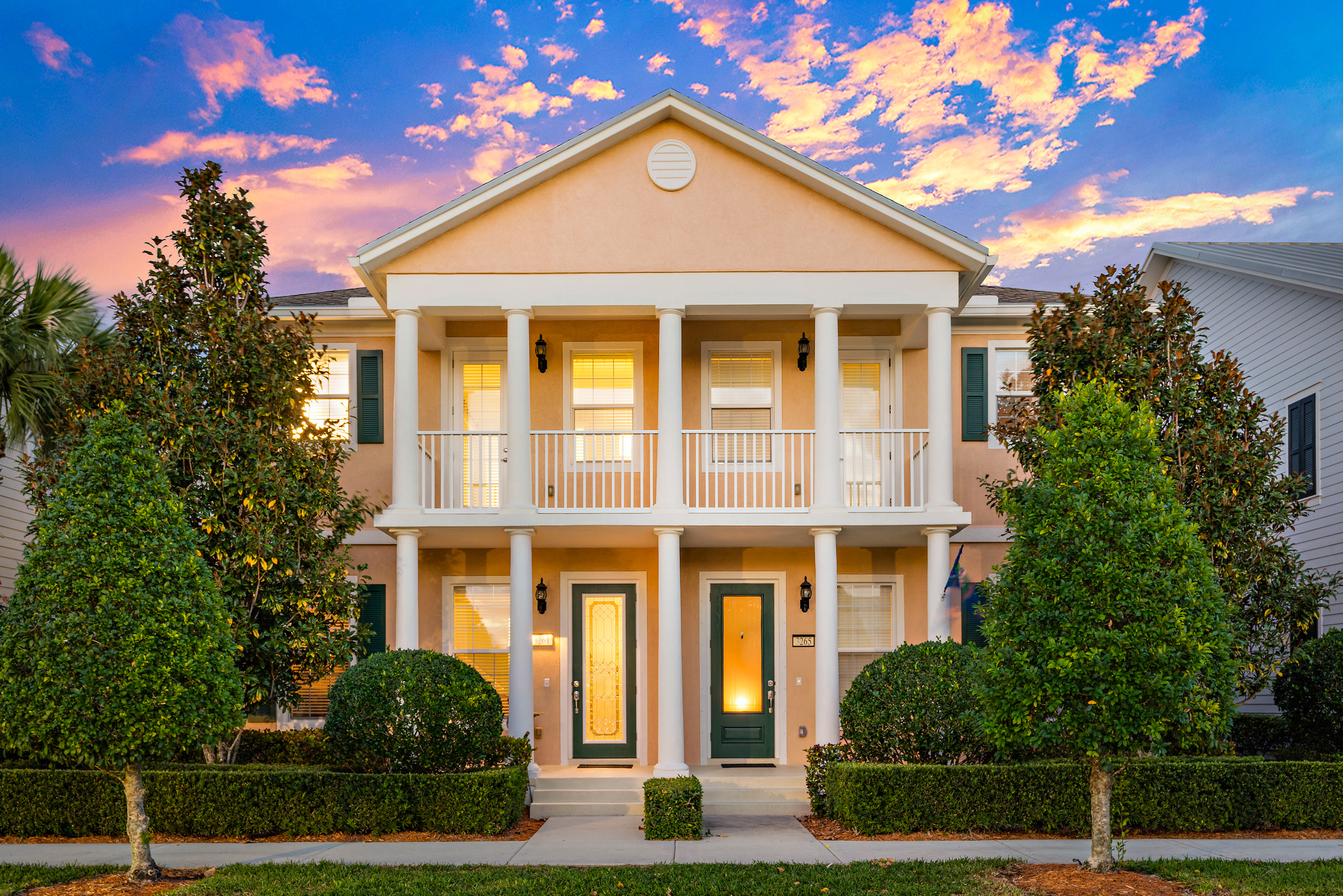 3261 Duncombe Drive Townhomes in Jupiter, Florida