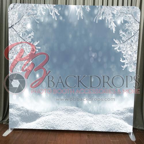 Princeton Photo Booth Winter Wonderland Backdrop