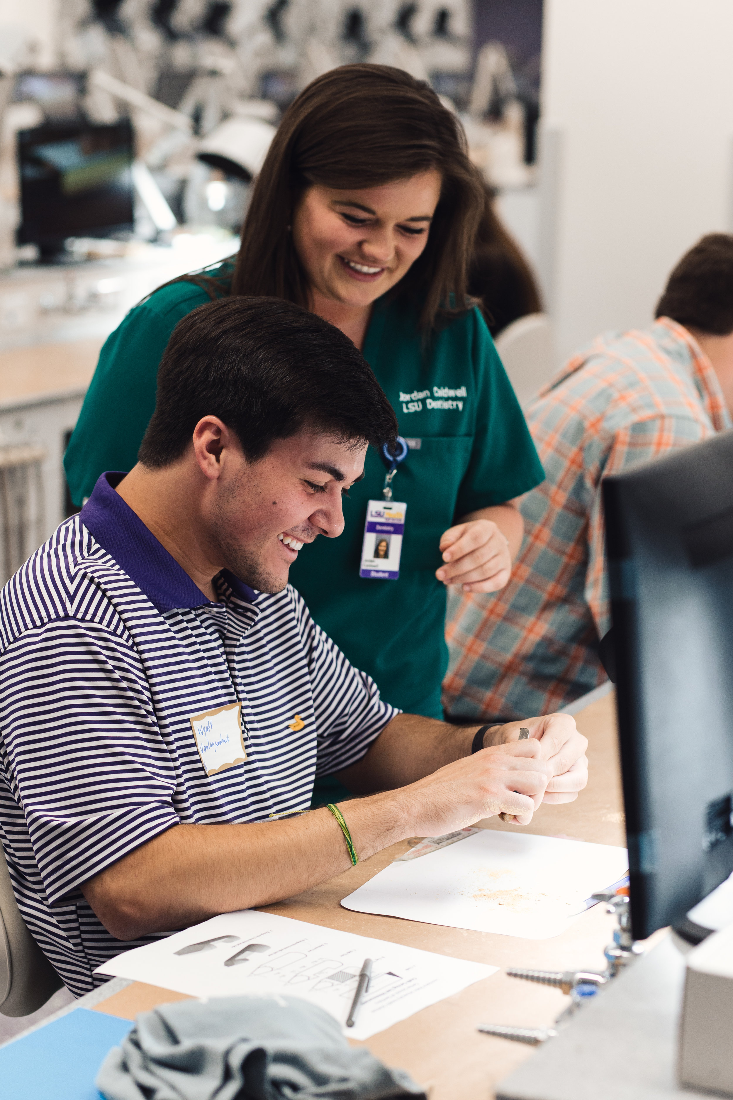 OUR MISSION - The LSU chapter of the American Student Dental Association aims to assist students pursuing careers in dentistry. With a history in providing its members with only the best opportunities in gaining experience and exposure in the dental field, LSU ASDA is well-recognized nationally by dental professionals, dental schools and their boards of admission. Determined in helping members and colleagues, the LSU ASDA officers team is on a mission of bringing the best experience that will hopefully make a positive impact on your journey during dental school.