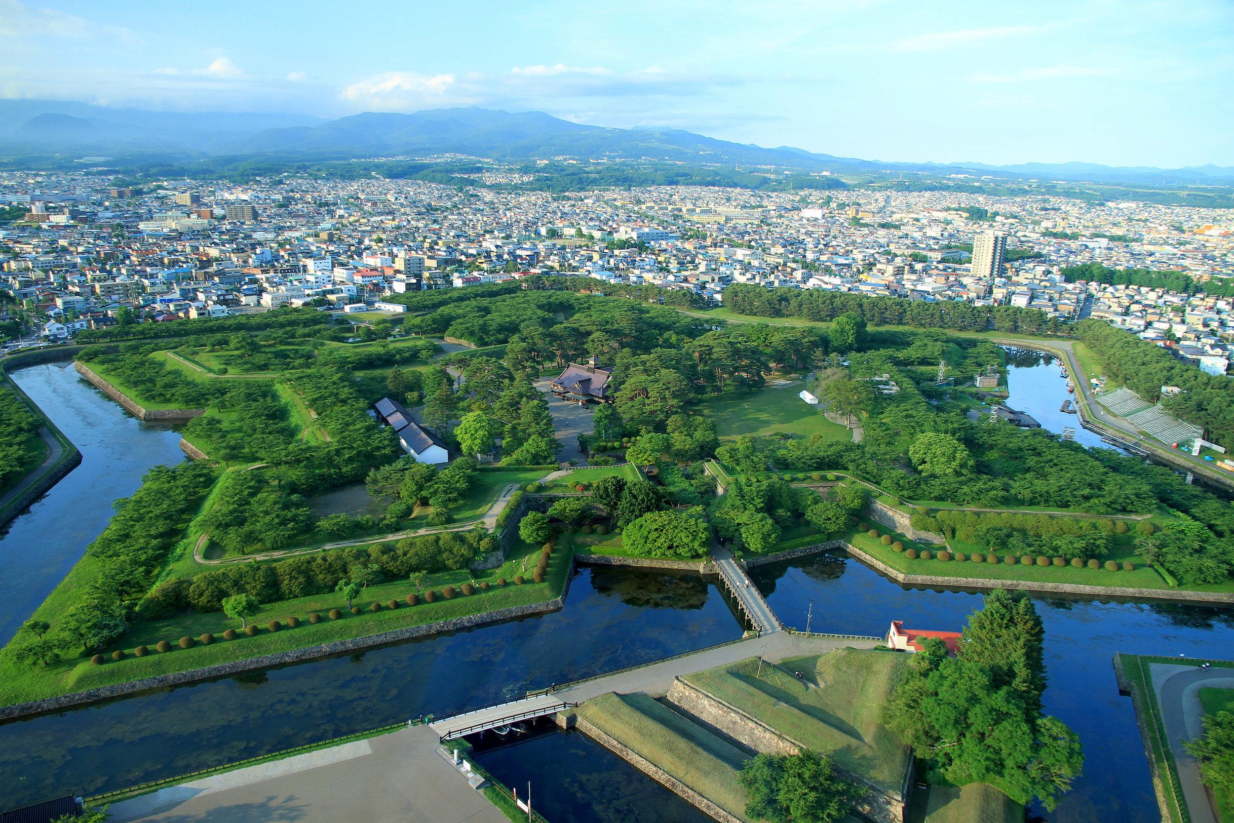 Hakodate's star-shaped fort