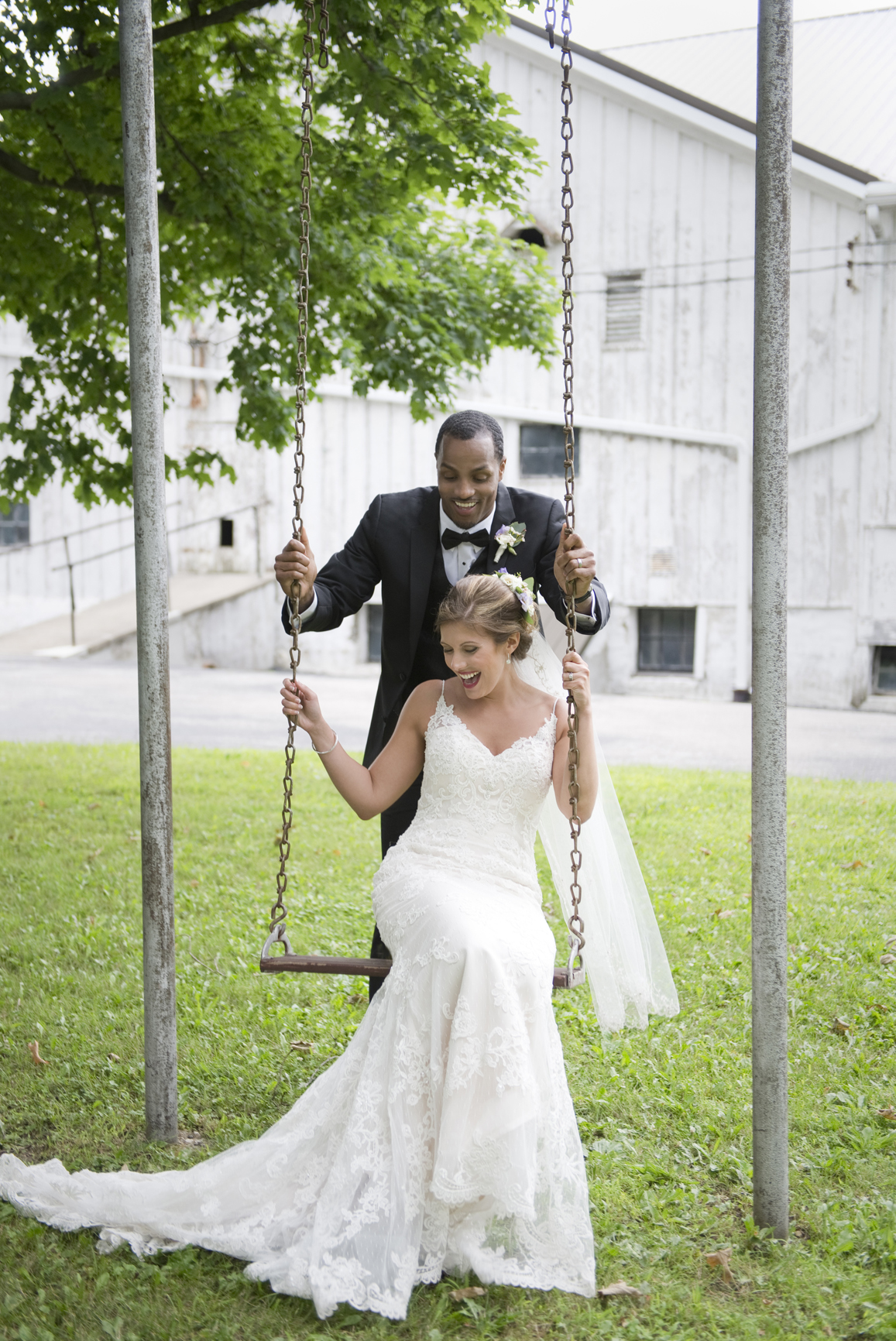 Fun bride and groom photography