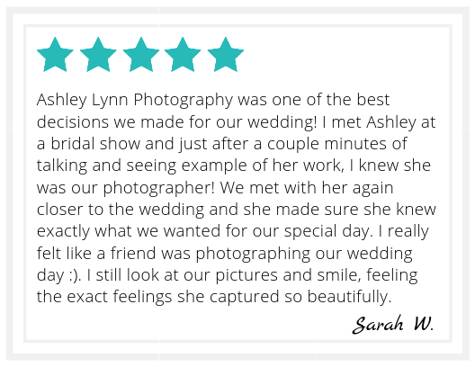 Sarah Wedding Review