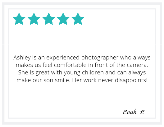Leah L. Family & Wedding Review