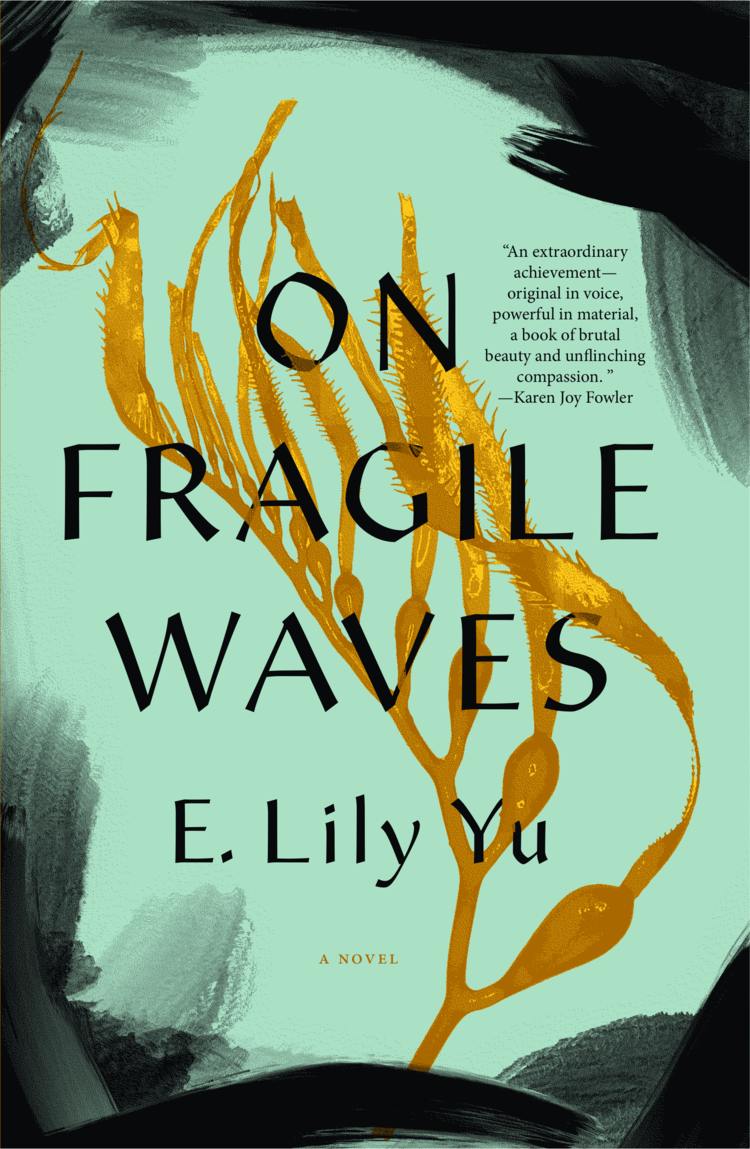 The front cover of the book titled On Fragile Waves published by Erewhon Press