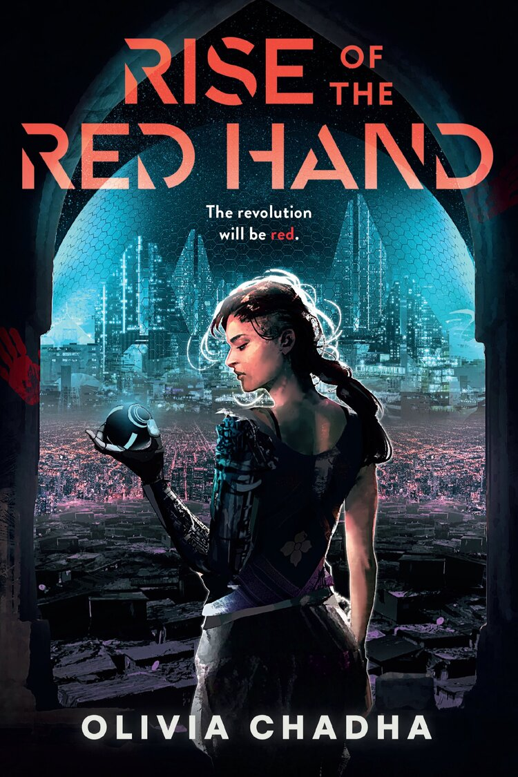 The front cover of the book titled Rise of the Red Hand published by Erewhon Press