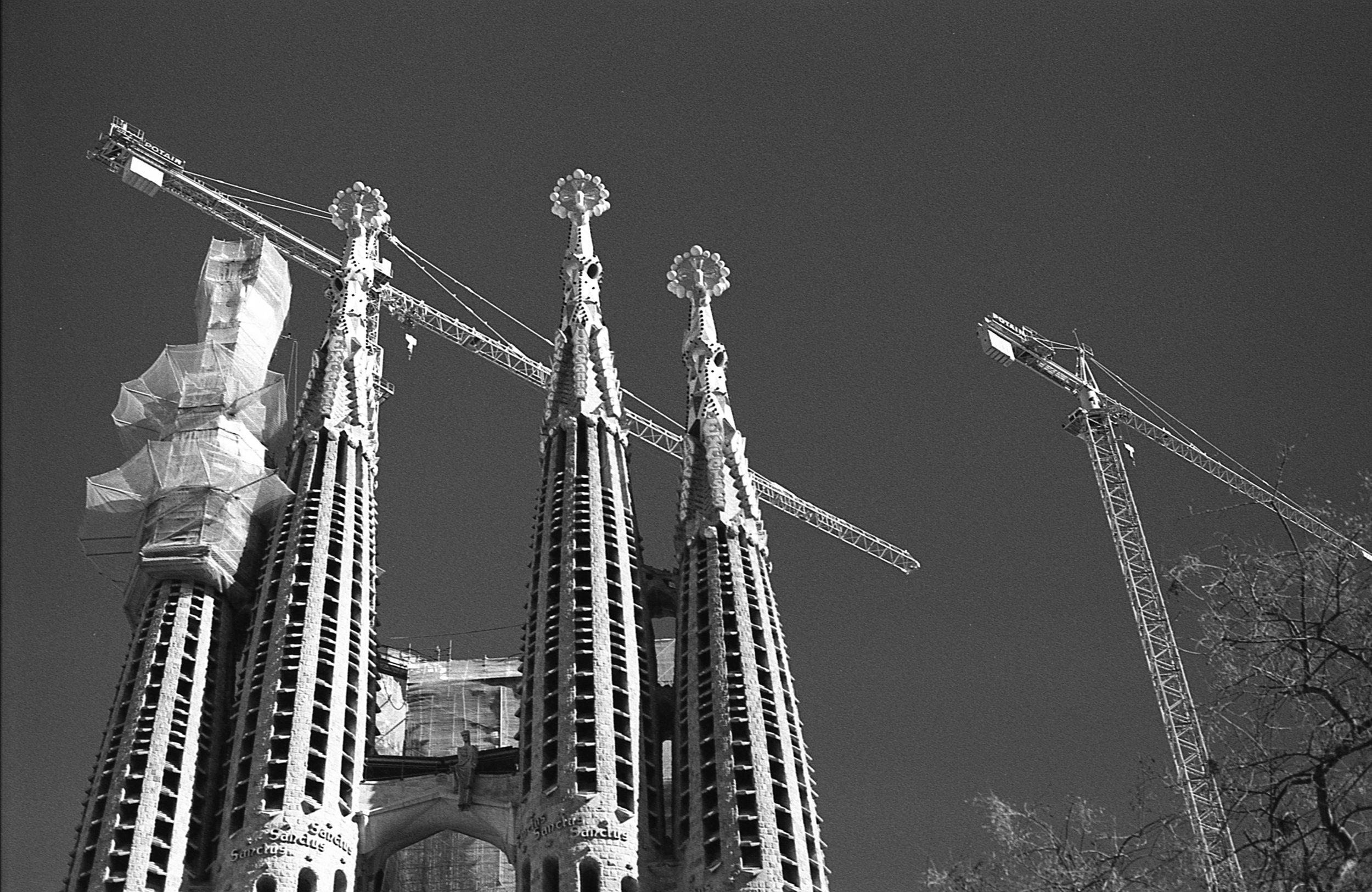 Barcelona, Nikon F3, Rollei Retro 400S