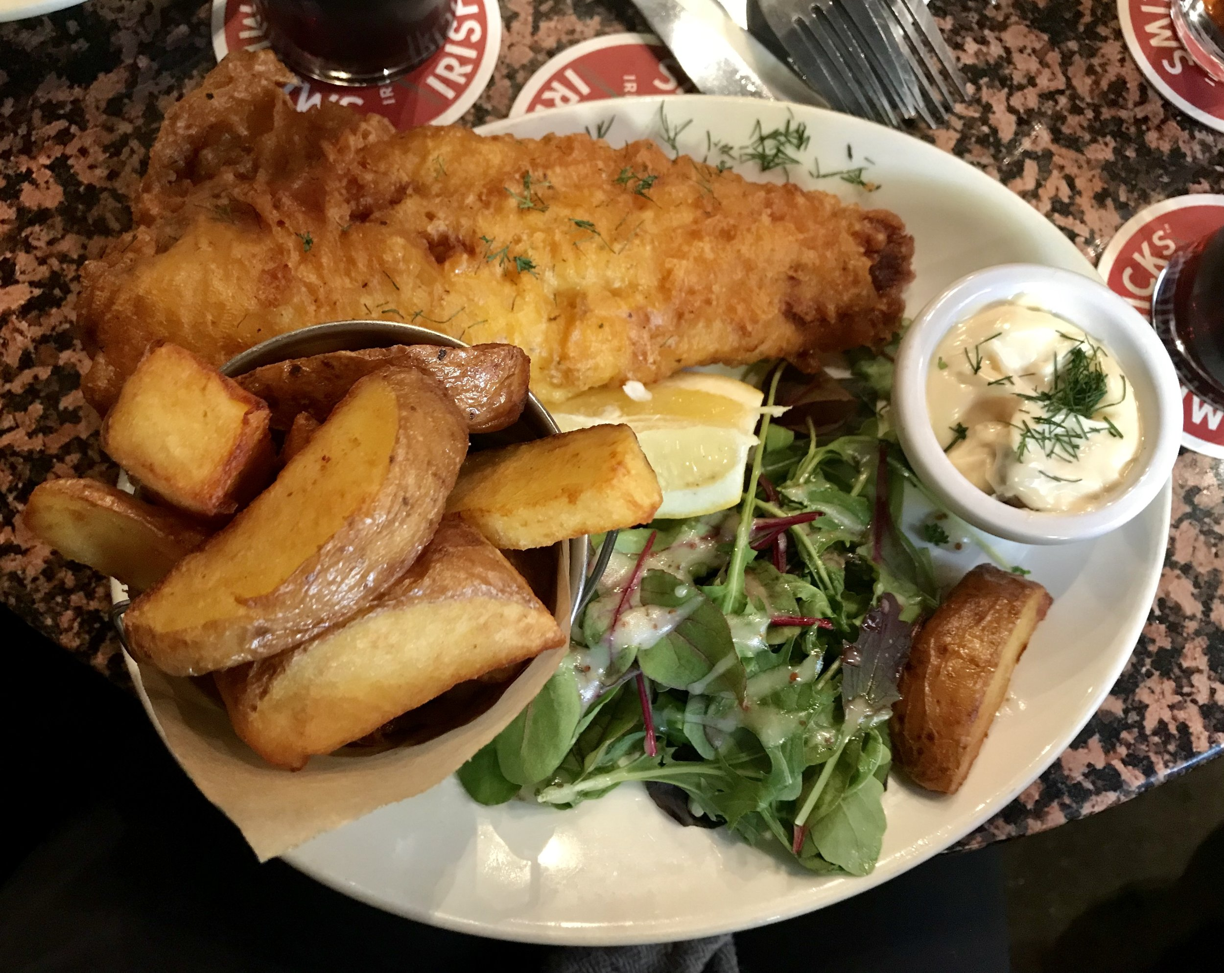 Dublin, Fish and Chips #2, iPhone 7