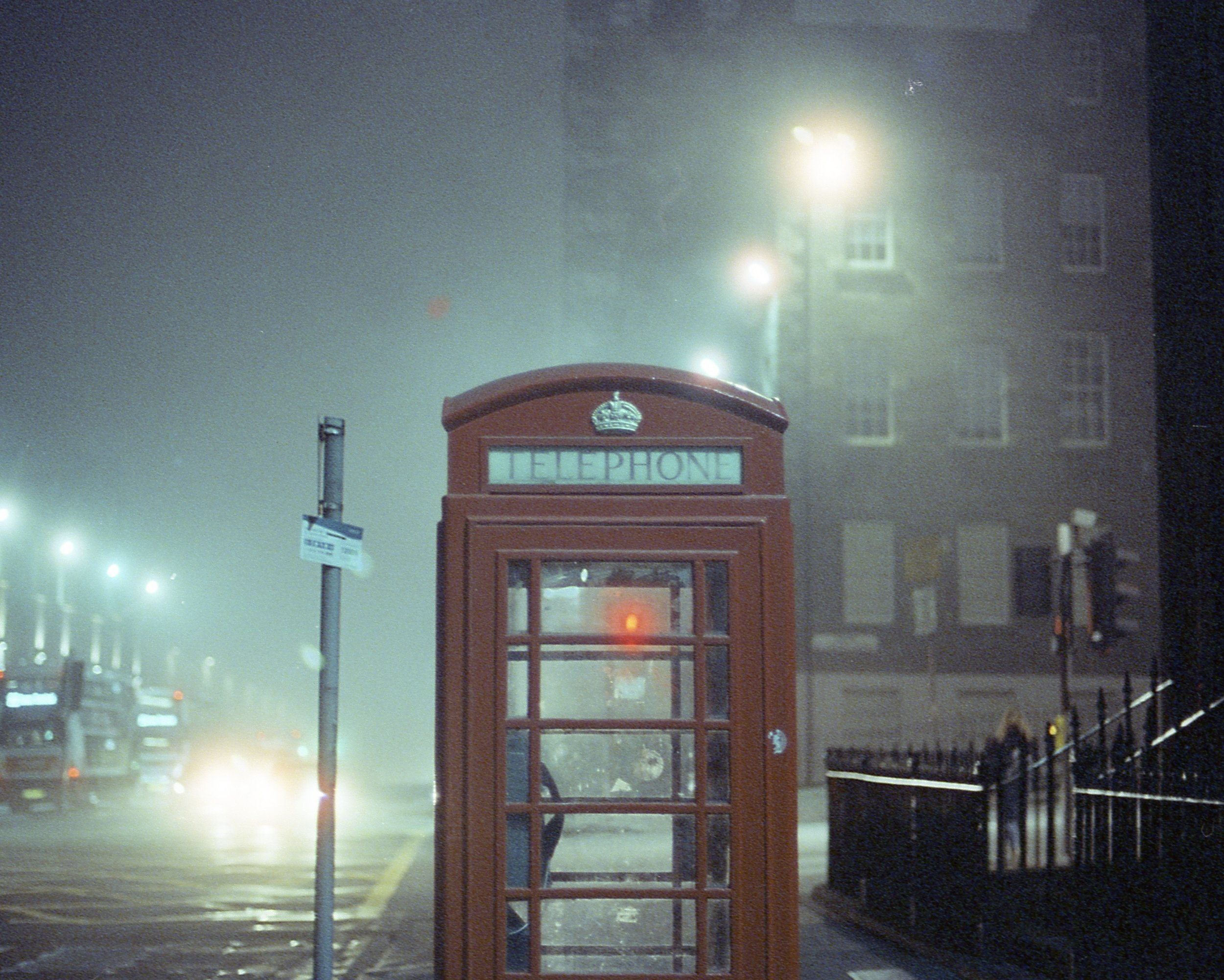 Edinburgh, Nikon F3, Cinestill800T
