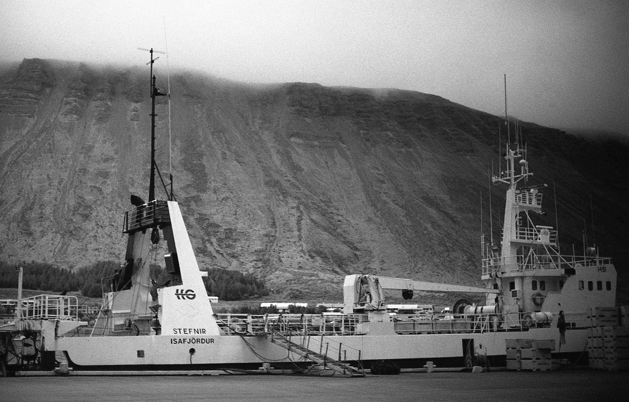 Ísafjörður, Nikon F3, RolleiRetro400S