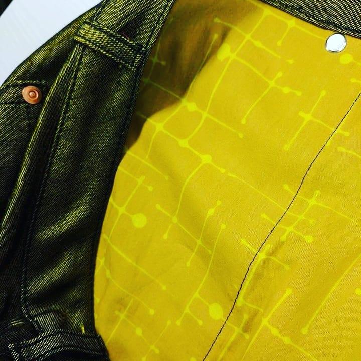 Kangaroo Pocket Jeans