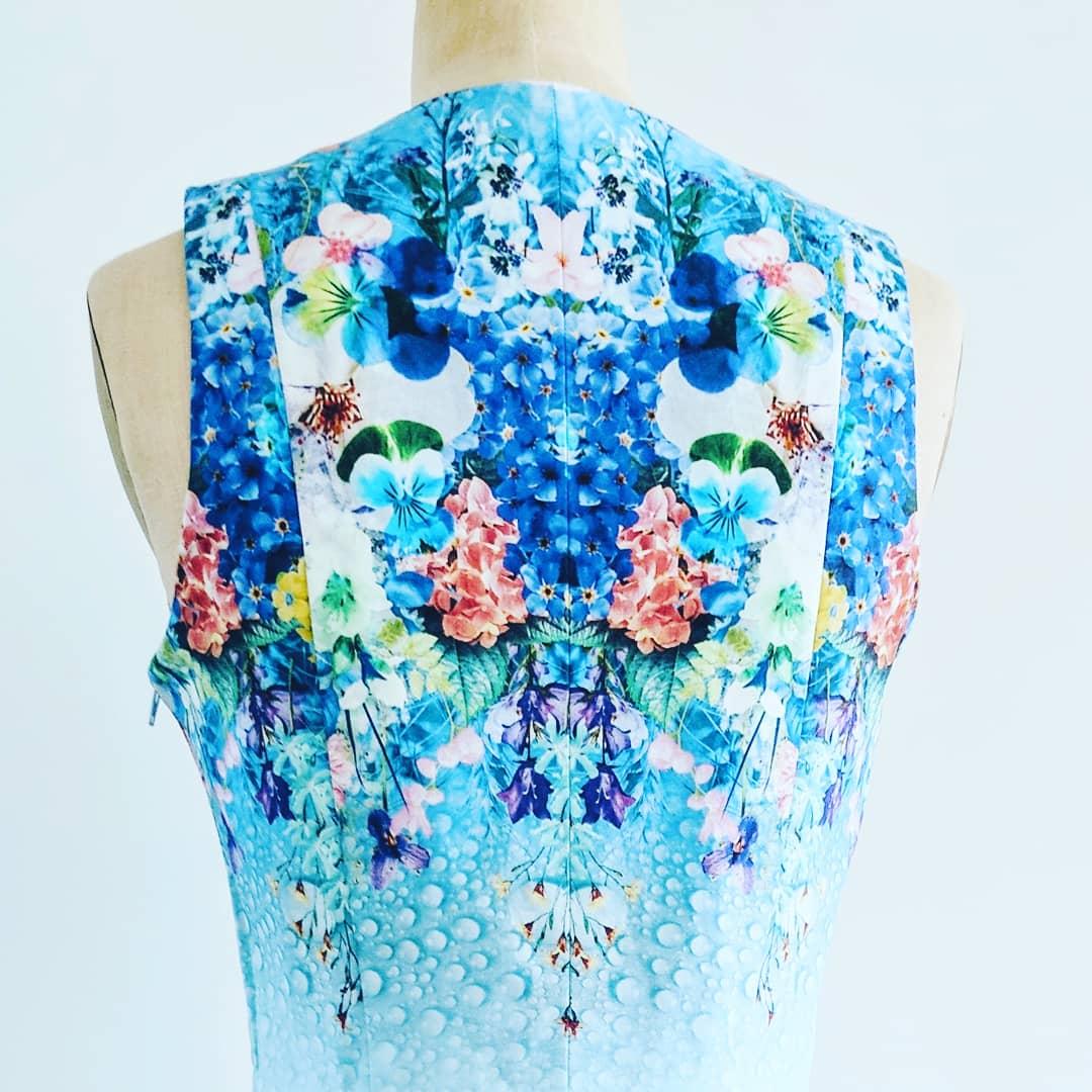 Kaleidoscopic Day Dress