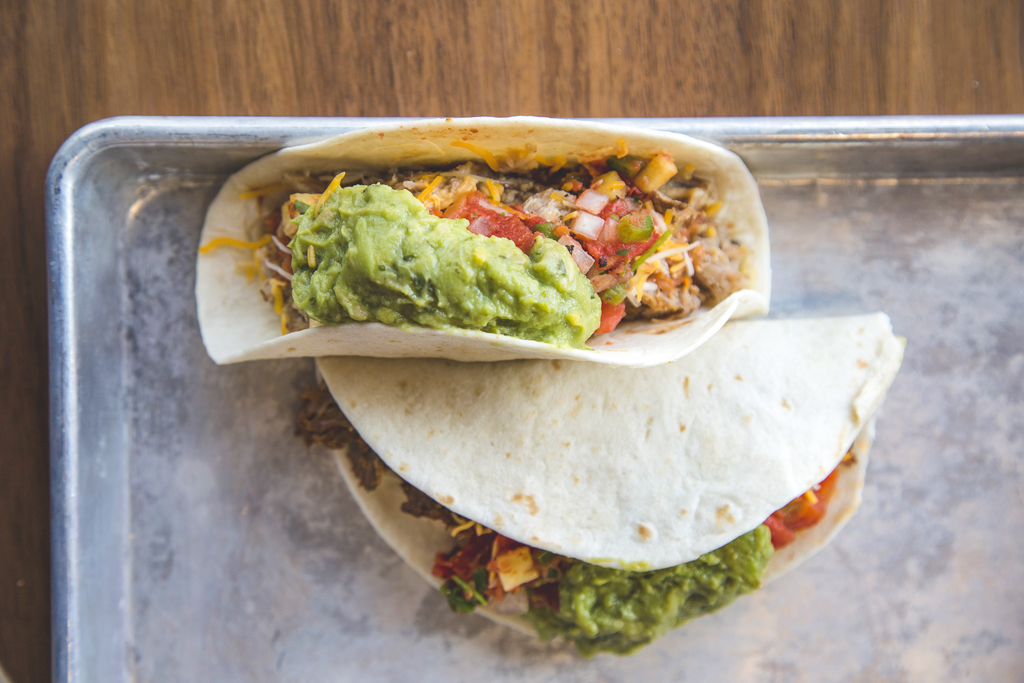 tacos at Gravie Kitchen + Commons