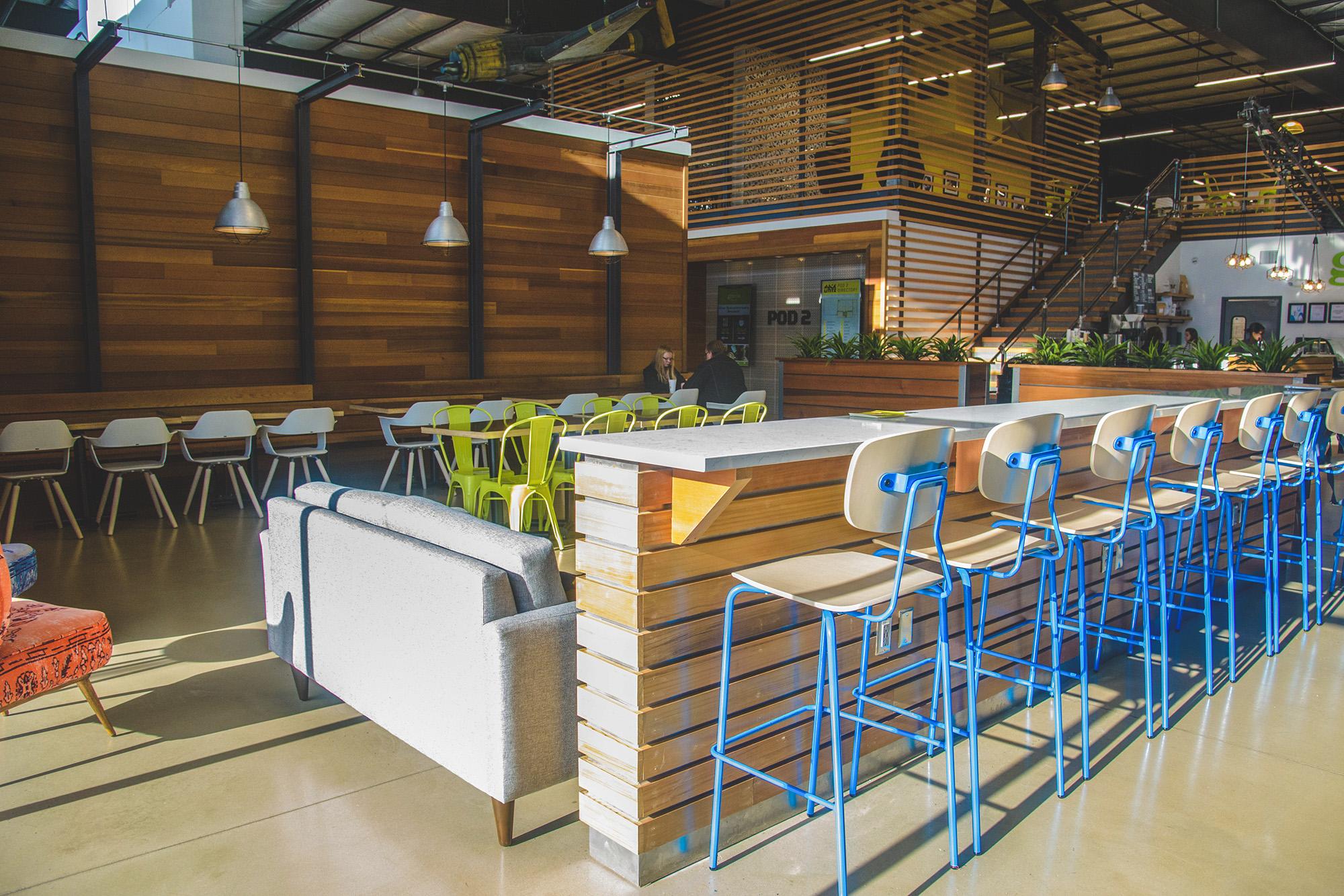 Gravie Kitchen + Commons interior