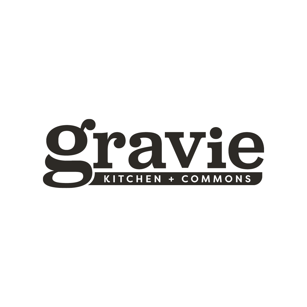 Gravie Kitchen + Commons logo