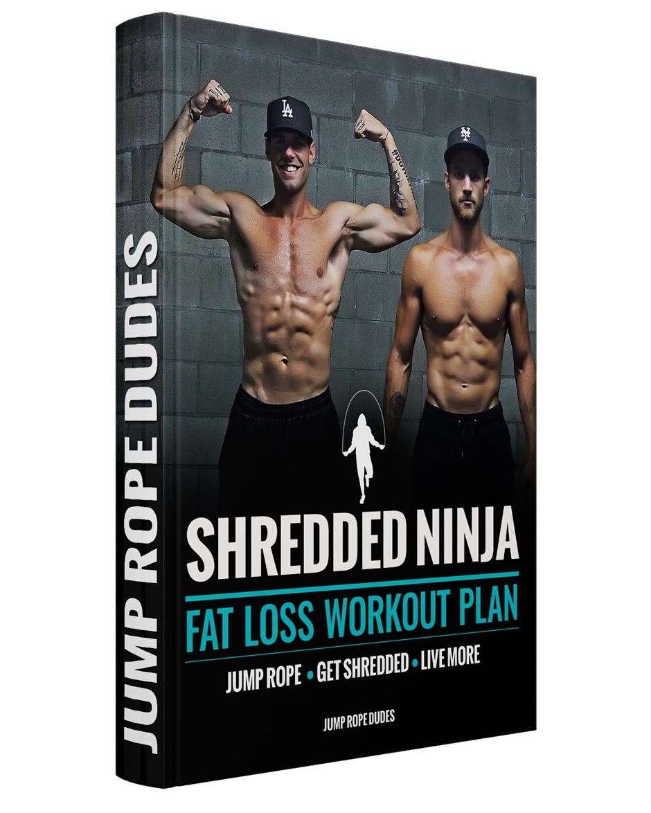 Shredded Ninja Workout Plan - Lose Weight in 30 Min/Day. No Gym Required.