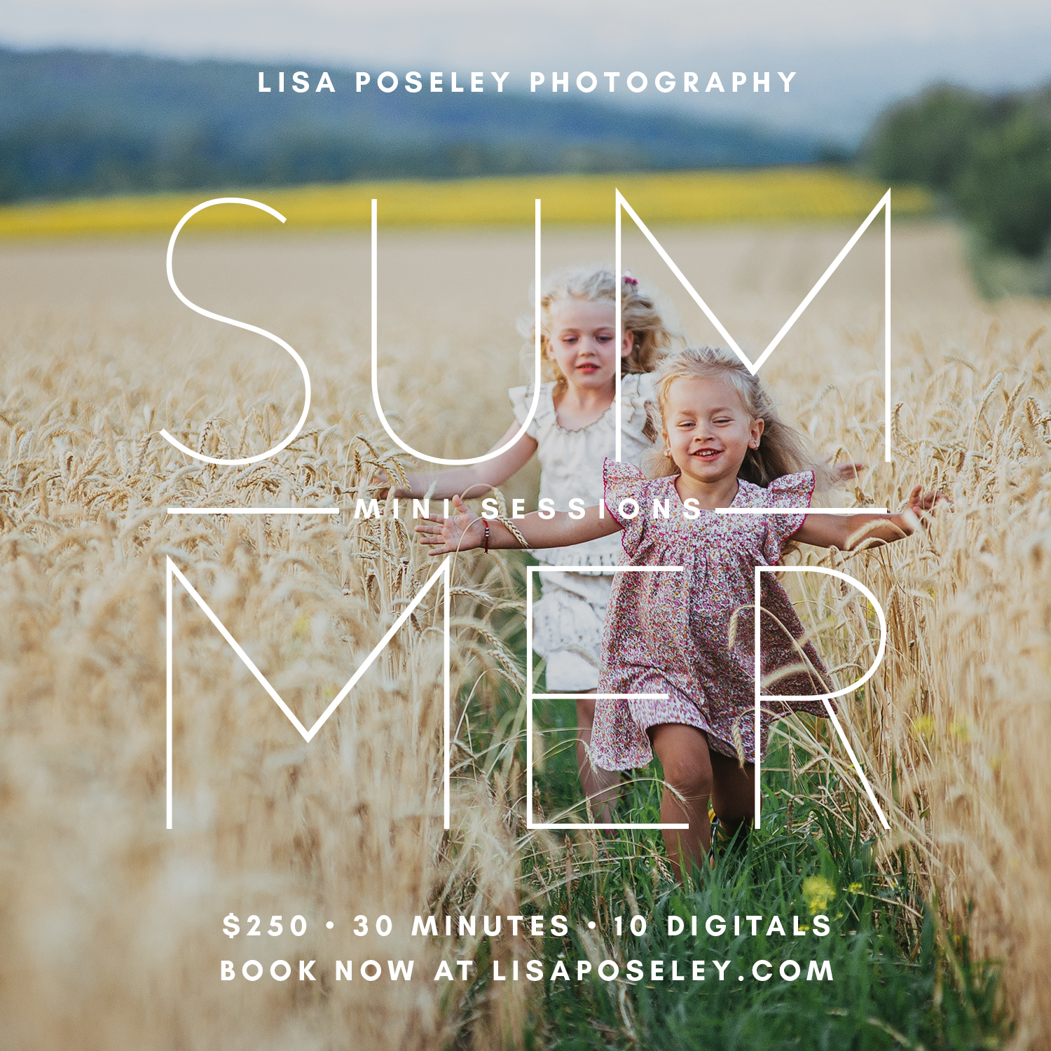 Summer Mini Session with Lisa Poseley Photography ©2019