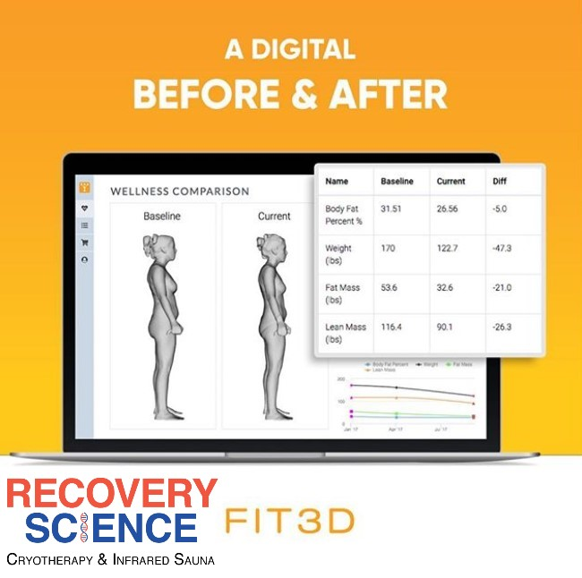 Free Fit3D Body scan