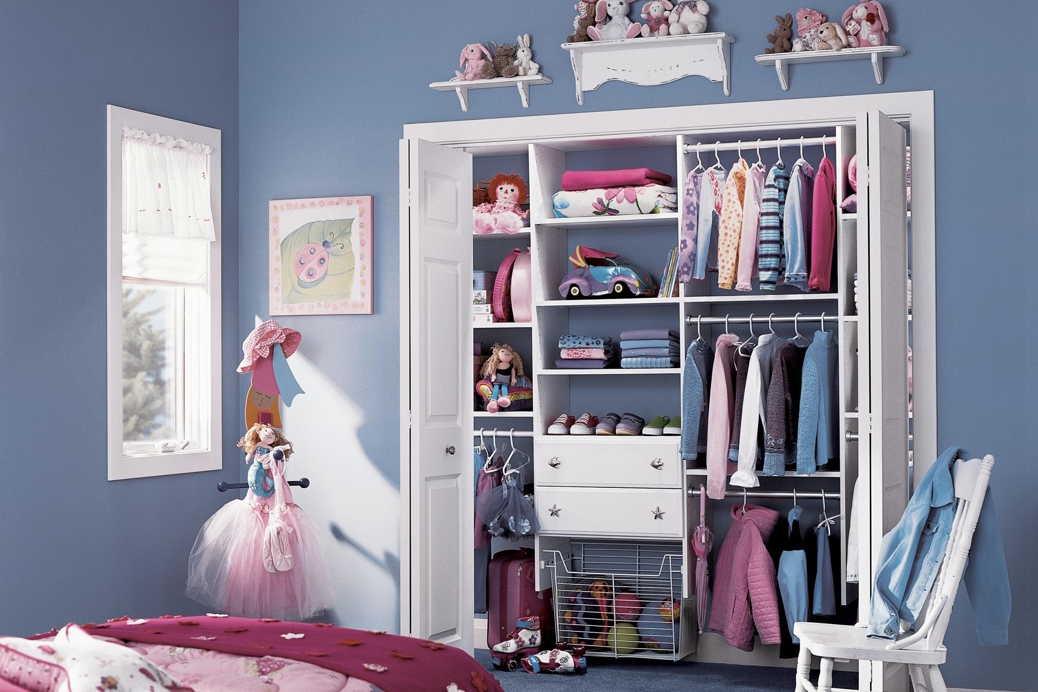kids teen closet