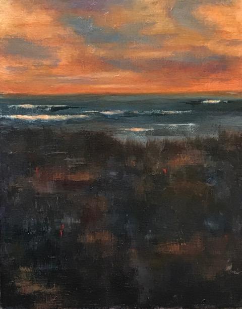 Sunset  | Oil |  $400