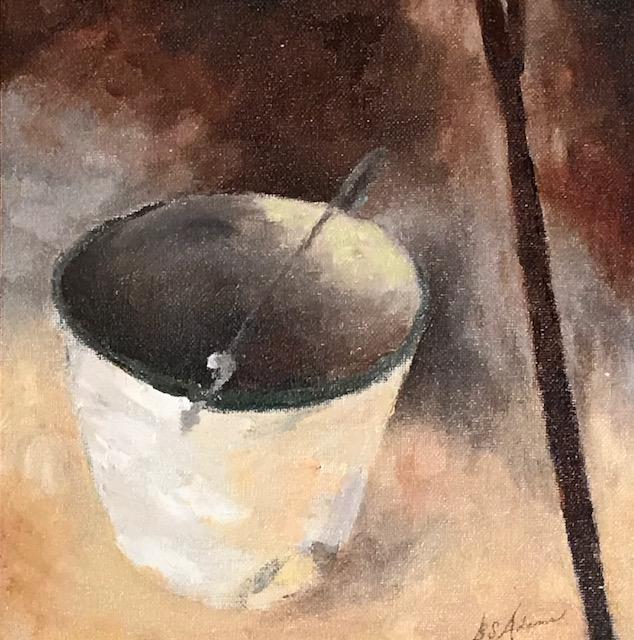Burt's Bucket  | Oil |  $300