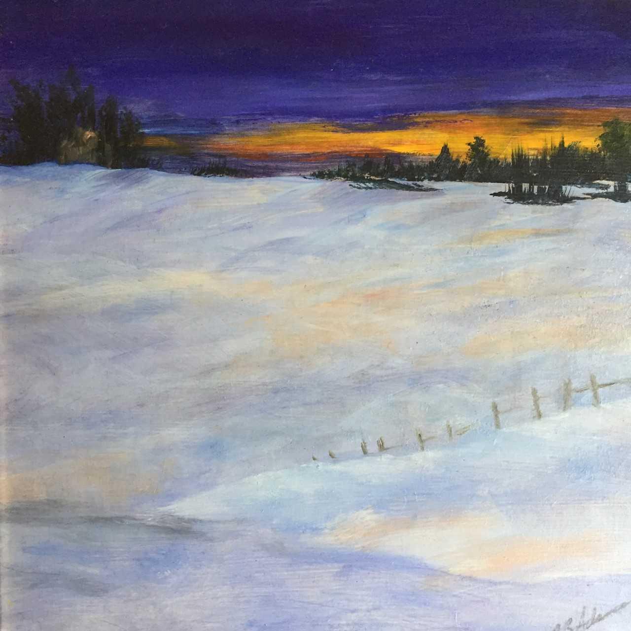 December Twilight  | Oil |  $300