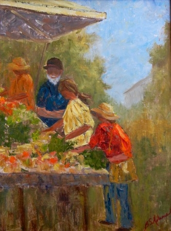 Farmer's Market  | Oil |  $390