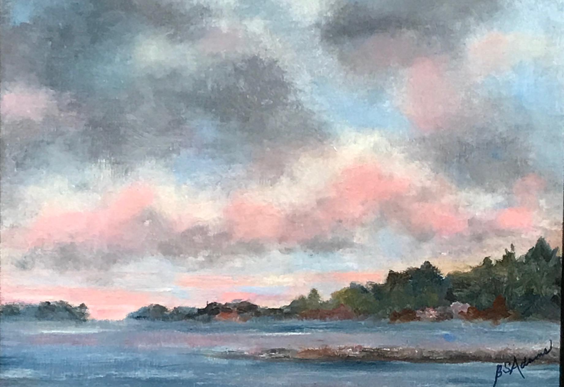 Spruce Head Sunset  | Oil |  $250