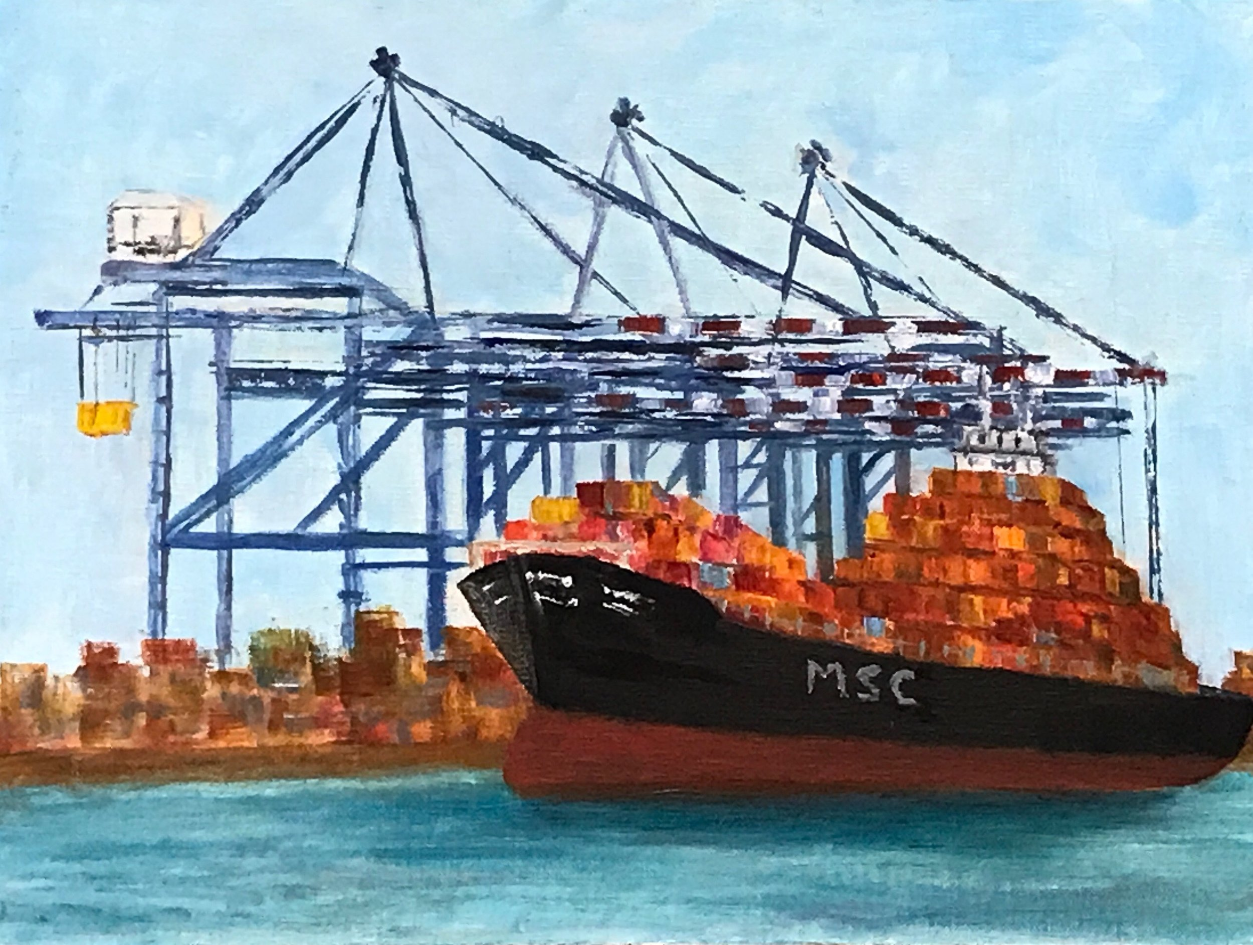 Container Ship  | Oil |  $400