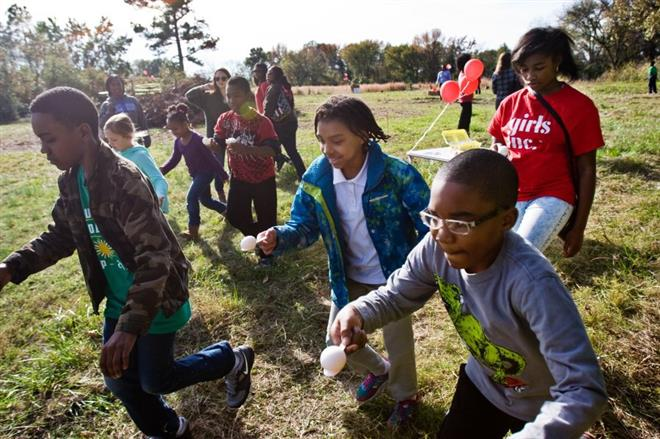 Youth farm celebrates harvest, empowerment of girls - The Commercial Appeal