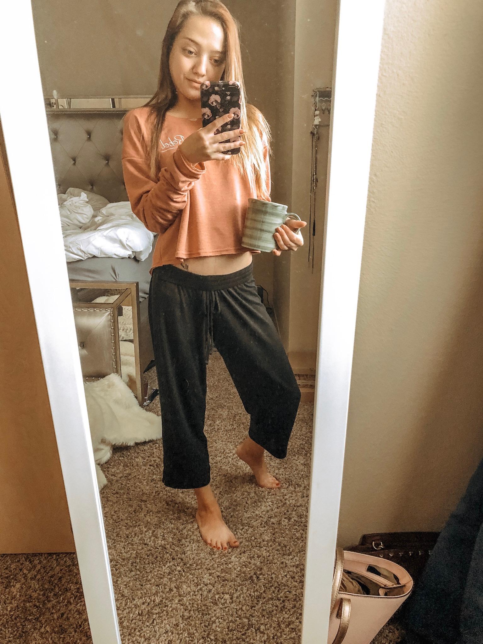 pajamas!  bottoms //  top