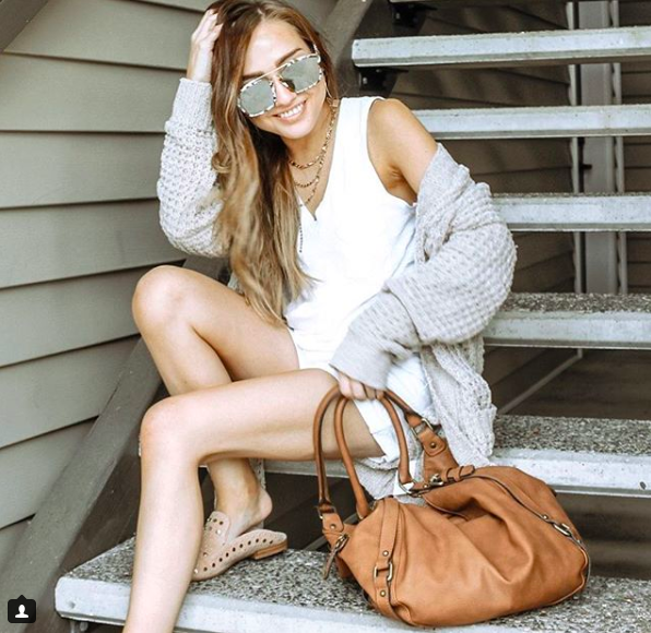 Shoes  // bag (old-target) // Cardigan (old-  express ) //  Tank top  //  sunnies  (use code: Jordanmarie20 for 20%off)
