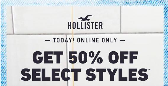 50% off selected styles—— my picks below