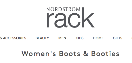 Womens boots and booties are on MAJOR SALE right now at  the Rack!!  Stay tuned for a blog post with ALLLLL the fall shoes. Tap photo to shop!