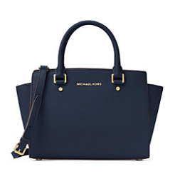 Macy's sale on designer bags! Use code: FALL for 20% off. This Michael Kors bag is only $135!