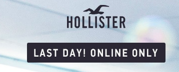 check  my picks here  to see all the amazing buys from hollister! Today is the last day to shop their half season sale.