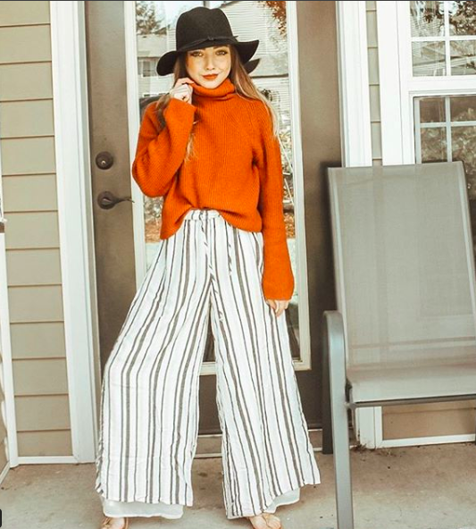 Hat  (dupe  here ) //  sweater  //  pants