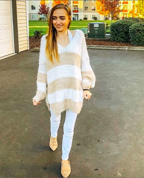 sweater  //  shoes