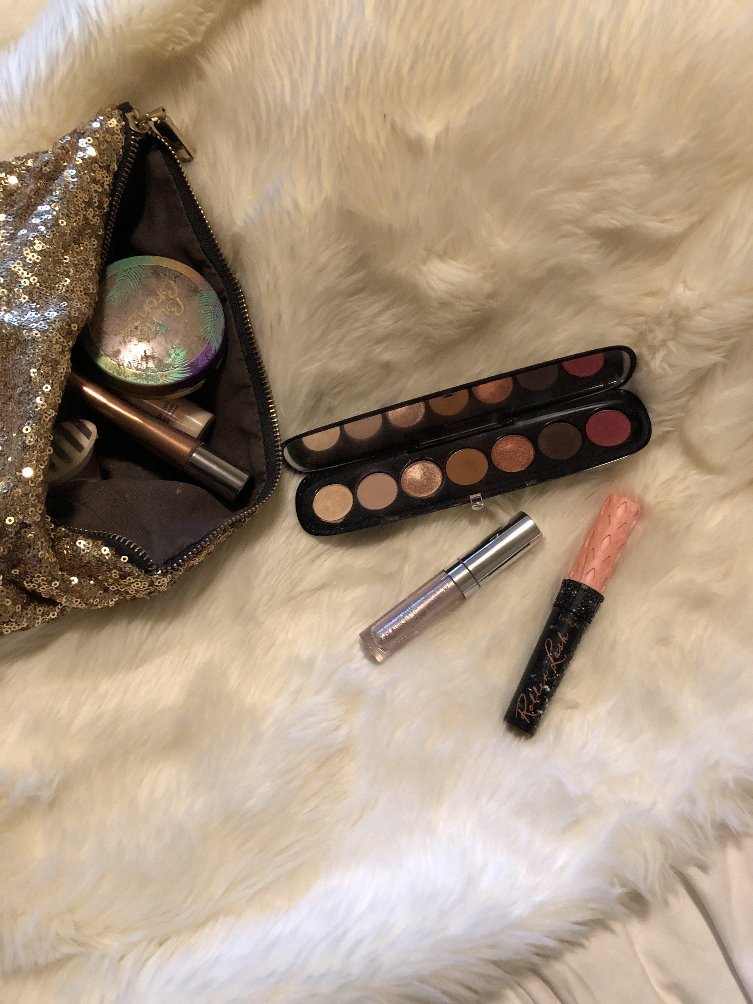 "Marc Jacobs ""Scandalust"" eyeshadow palette Colourpop liquid shadow Benefit rollerlash mascara"