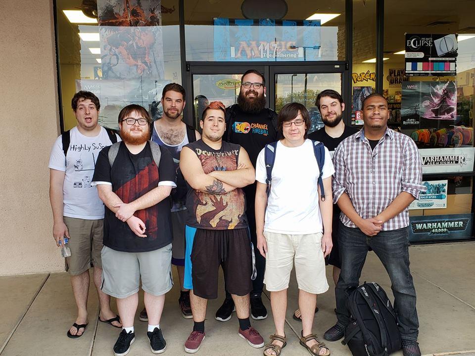 Avondale City Champs Top 8: (from left to right) Zach, William, Bobby, Demetri, Matthew, Tony, Bryan, Leon
