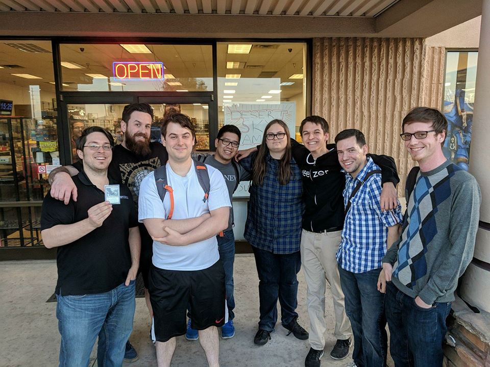 Chandler City Champs Top 8: (from left to right) Mike, Daniel, Bryan, Sydney, Brad, Tommy, Franky, Dan