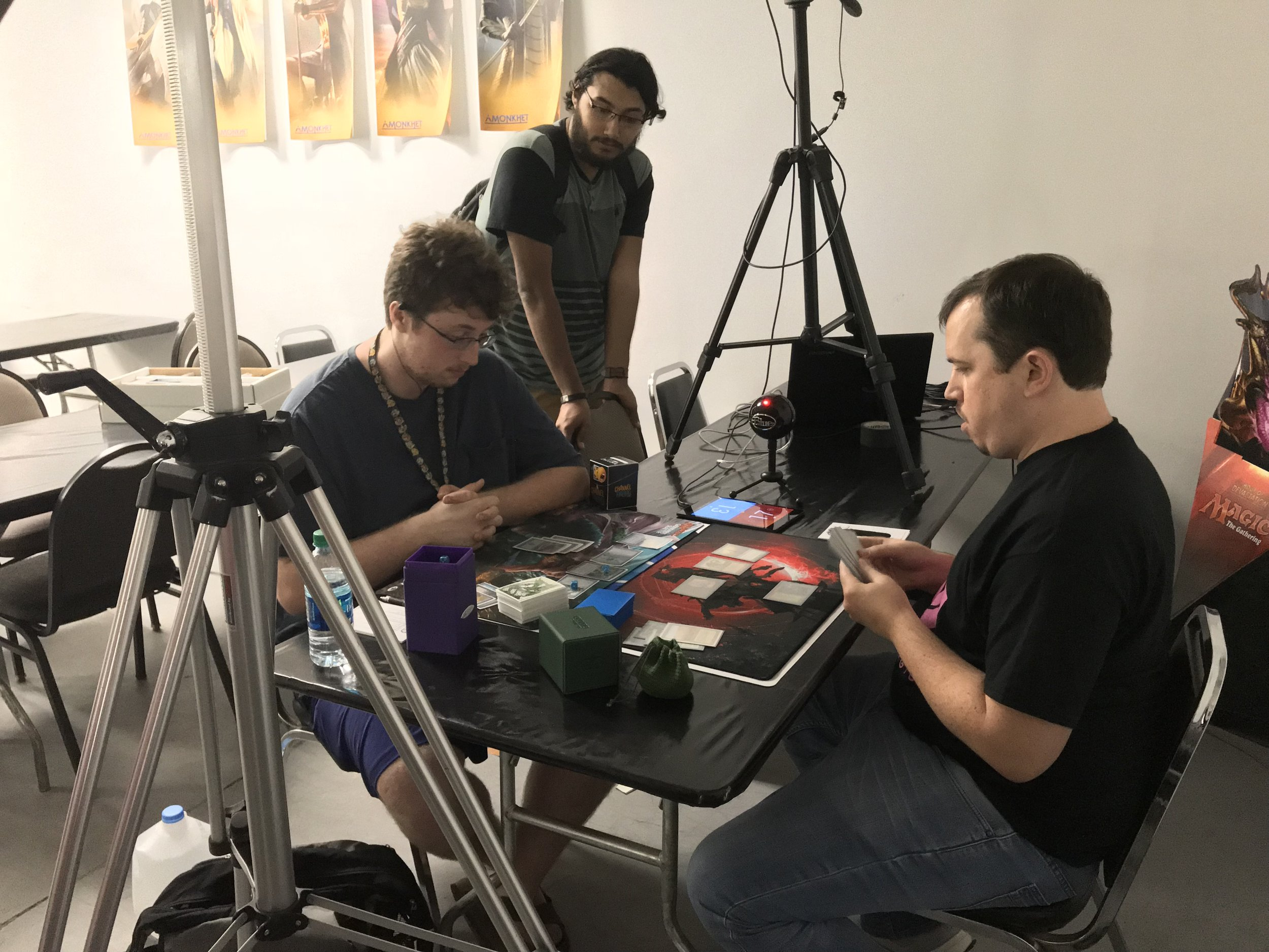 The event was streamed at  www.twitch.tv/arizonaeternalmagic .