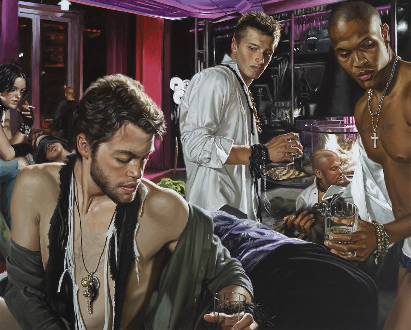 All the Kings Men - Oil on linen40 x 60$50,000