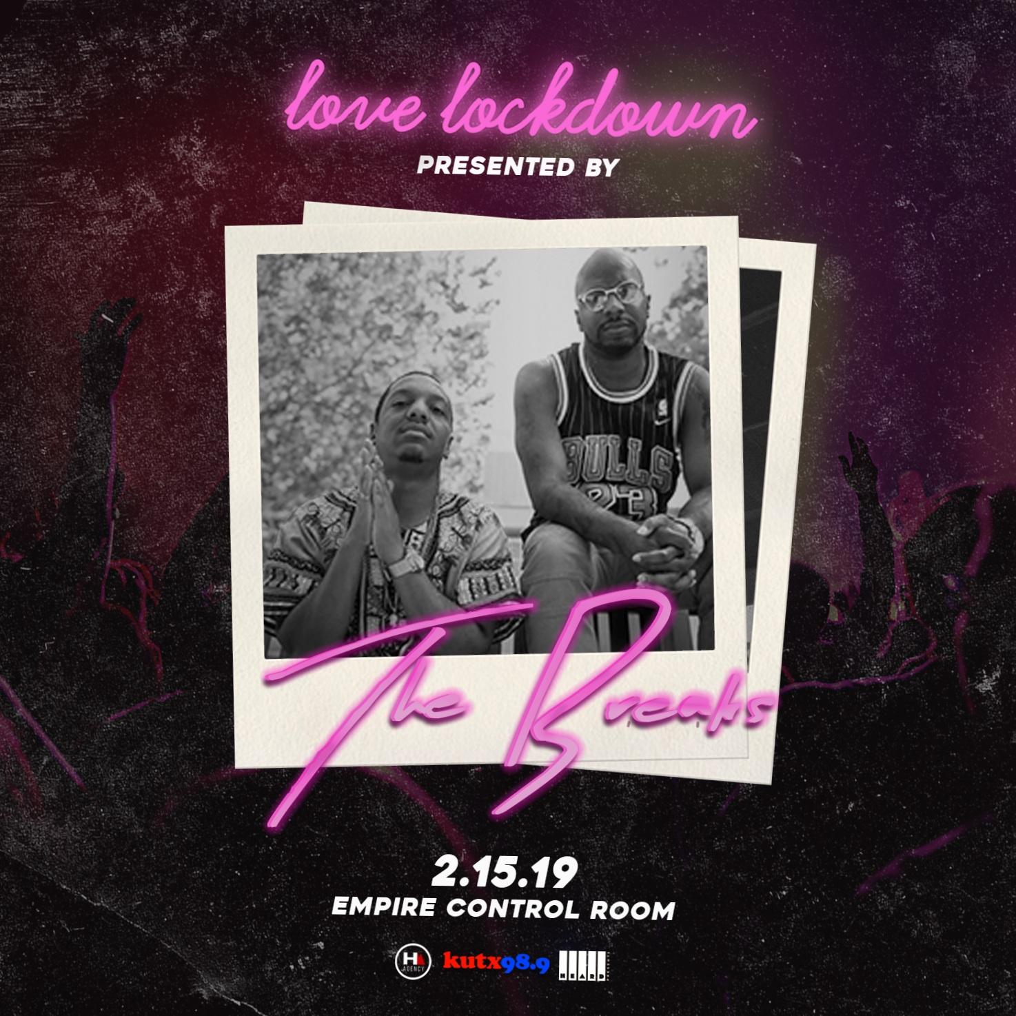 Love Lockdown hosted by KUTX's The Breaks