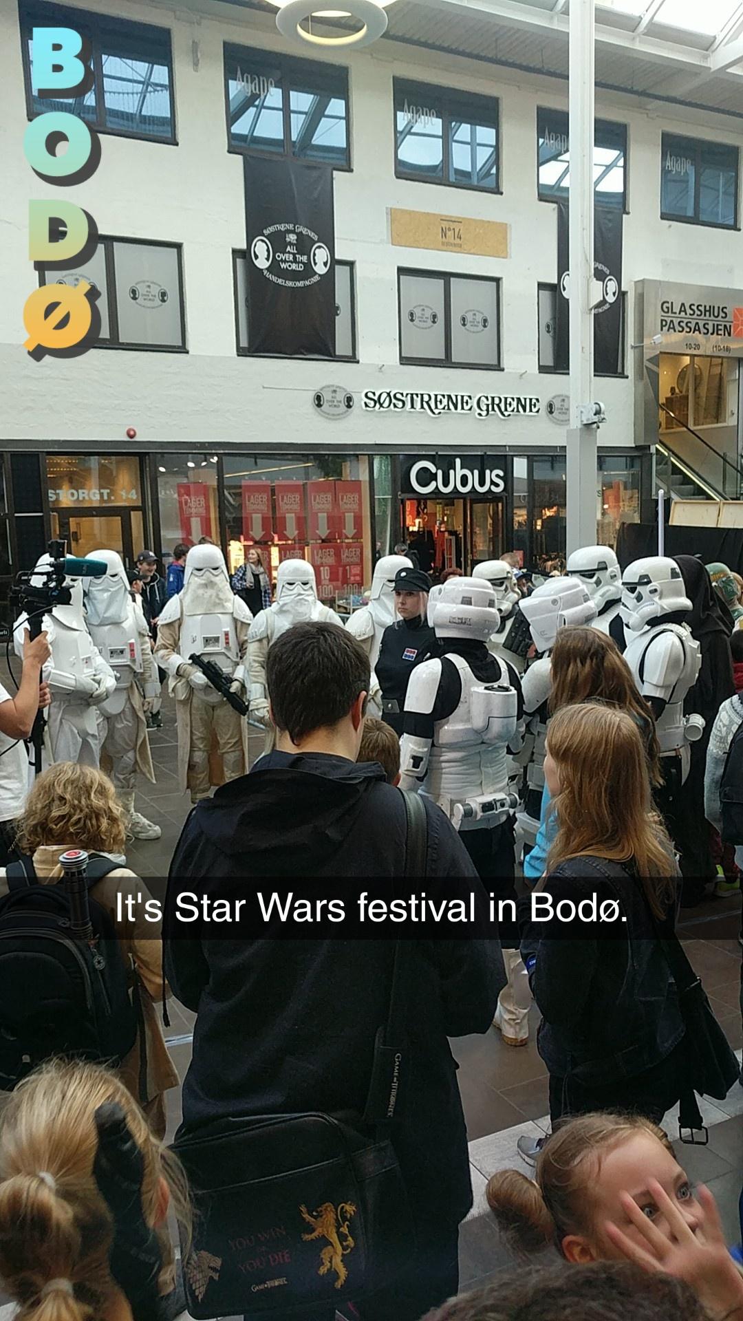 Star Wars fest.