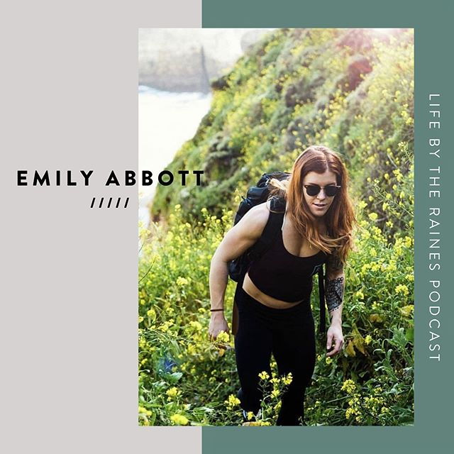 Episode 20 is on FIRE! 🔥 It was an ABSOLUTE PLEASURE having our friend @abbott.the.red on the podcast this week.  Emily's story and journey highlights such a profound metamorphosis.  The way she views life, her place in it, and her passion for enlightenment, spirituality and change is magnetic. ⠀⠀⠀⠀ We cover so much ground in this episode, chatting about topics that desperately need to be discussed in today's world.  In this episode, we chat about: ⠀⠀⠀⠀ ☑︎ Finding her purpose through the shadows ☑︎ The birth of @psychedelicgypsyfitness ☑︎ Embodying her feminine fire ☑︎ Nutrition, Movement & Spiritual Practice ☑︎ Becoming better humans by balancing out the M/F energies ☑︎ Sex, Sexuality & Pleasure ⠀⠀⠀⠀ So much gratitude, Emily, for being so open and vulnerable in sharing your incredible journey with us. Can't wait to have you back soon! ⠀⠀⠀⠀ Seriously do not miss this episode! ❤️Available on Apple Podcasts, Google Play, and Spotify (link in profile). ⠀⠀⠀⠀ #lifebytherainespodcast #podcast #psychedelicgypsyfitness
