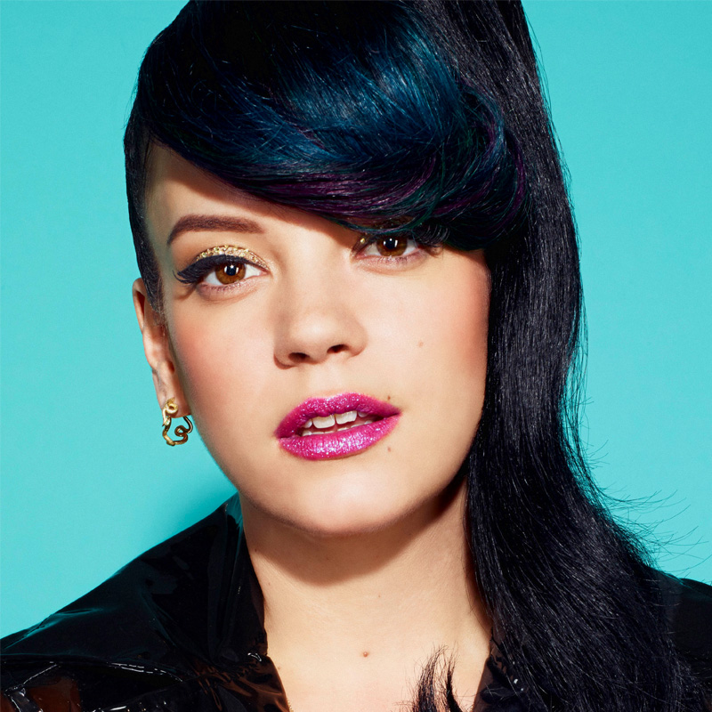 Lily Allen - Singer, songwriter and social commentator. Gives a shit with No Shame