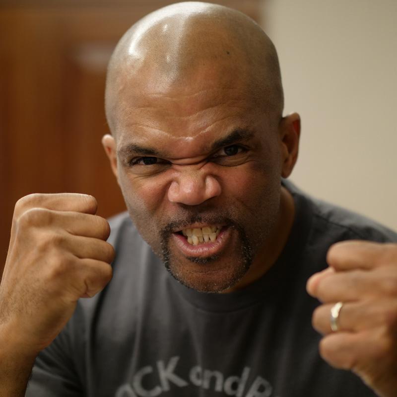 DMC - The mighty King of Rock, one third of Run DMC and creator of Darryl Makes Comics